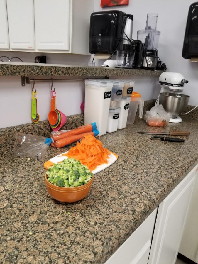 Pre portioned foods are one of the many additional precautions taken in Culinary classes.