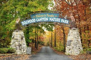 Dogwood Canyon Nature Park outside Branson, Mo.
