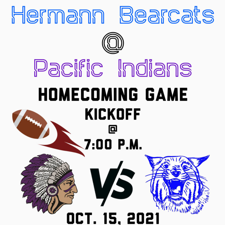 Homecoming Game Friday, Oct. 15